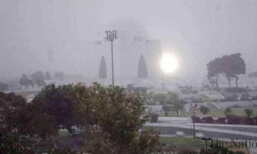 most parts of Sindh including Karachi will be affected by severe autumn winds.