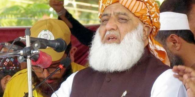 Maulana Fazlur Rehman will no longer accept the supremacy of institutions in Pakistan