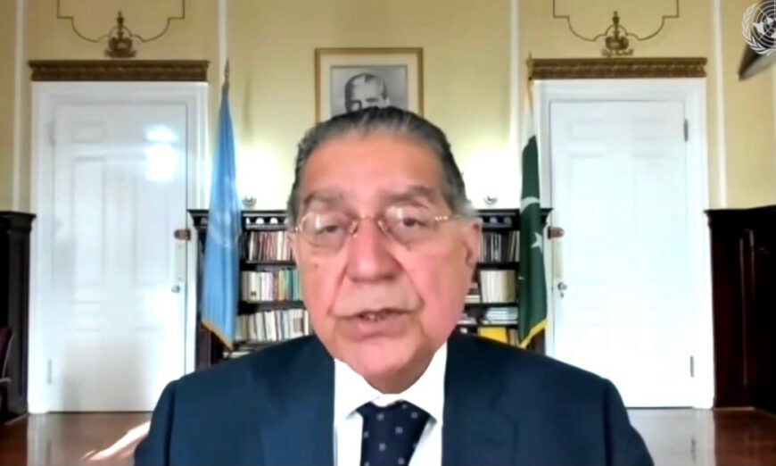 Will work to strengthen ties with new US president: Munir Akram