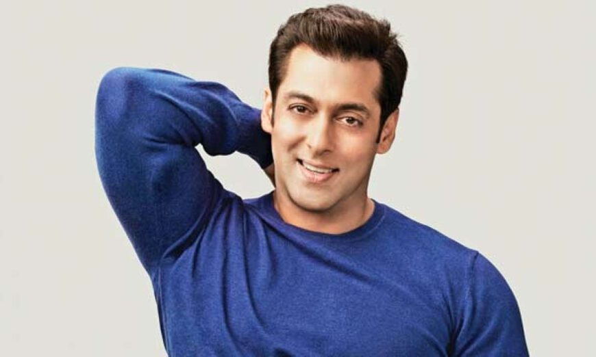 A new video of Indian superstar Salman Khan holding his niece's has gone viral on social media